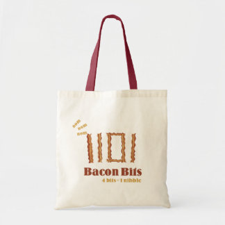 Bacon Bits Budget Tote Bag