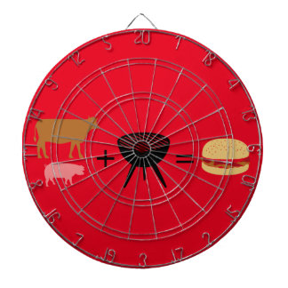 Bacon Burger Recipe Dartboard