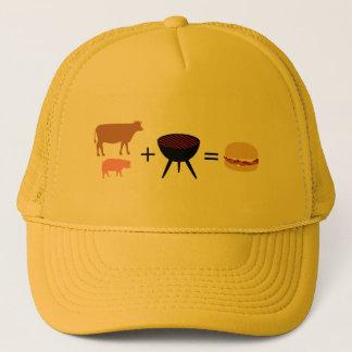Bacon Burger Recipe Trucker Hat