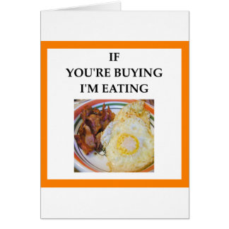 BACON CARD