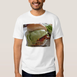 Bacon Cheeseburger,Bring It On-Summer&Barbeques T Shirt