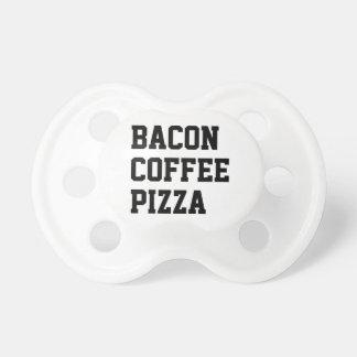 Bacon Coffee Pizza Dummy