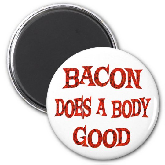 Bacon Does Good Magnet