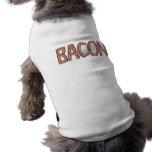 Bacon Dog Apparel Sleeveless Dog Shirt