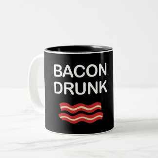 BACON DRUNK Two-Tone COFFEE MUG