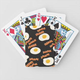 Bacon & Eggs Bicycle Playing Cards
