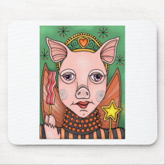 Bacon Fairy Color Mouse Pad