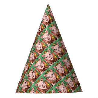 Bacon Fairy Color Party Hat