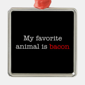 Bacon Favorite Animal Ornaments