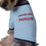 Bacon Font 'Murica! Dog Clothing
