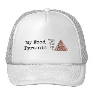 Bacon Food Pyramid Cap