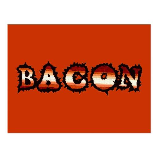 BACON Frenzy Fot Postcards