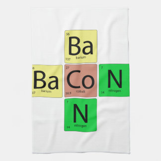 Bacon Geek Tea Towel