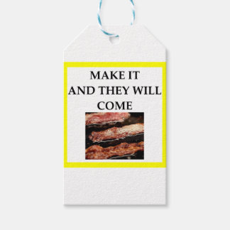 bacon gift tags