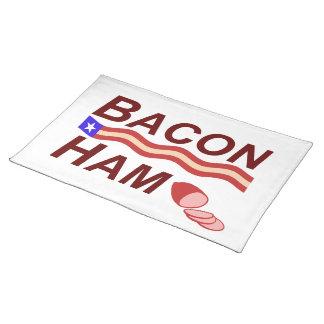 Bacon Ham Campaign Placemat