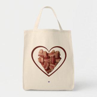 Bacon Heart Tote