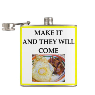 bacon hip flask