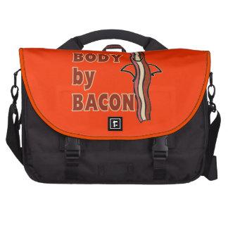 BACON Humor Body By Bacon Laptop Computer Bag