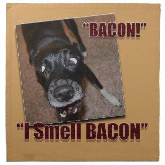 Bacon, I Smell Bacon Napkin