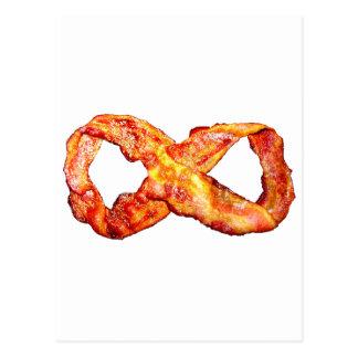 Bacon Infinity Postcard