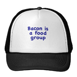Bacon is a Food Group Hat