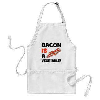 bacon is a vegetable standard apron