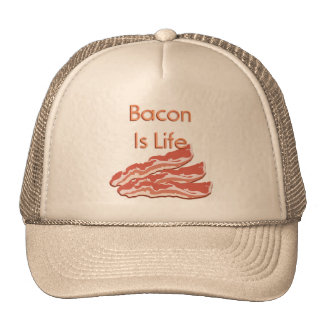 Bacon Is Life Mesh Hats