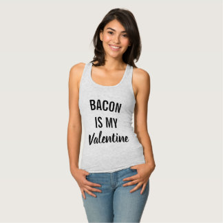 Bacon is My Valentine Singlet