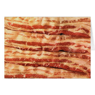 bacon is the best! card