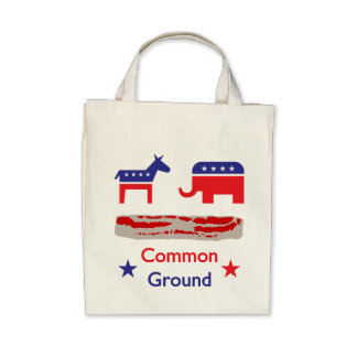 Bacon! It's Common Ground Tote Bag