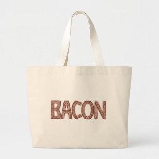 Bacon Jumbo Tote Bag
