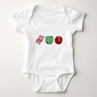 Bacon Lettuce & Tomato - The BLT! Baby Bodysuit