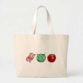 Bacon Lettuce & Tomato - The BLT! Jumbo Tote Bag