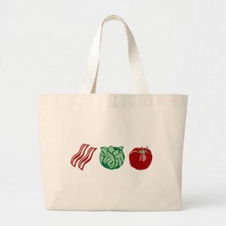 Bacon Lettuce & Tomato - The BLT! Jumbo Tote Bag