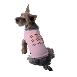 BACON LIPS SMOOCHY POOCHY SHIRT