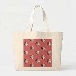 Bacon Love Heart Pattern Bags