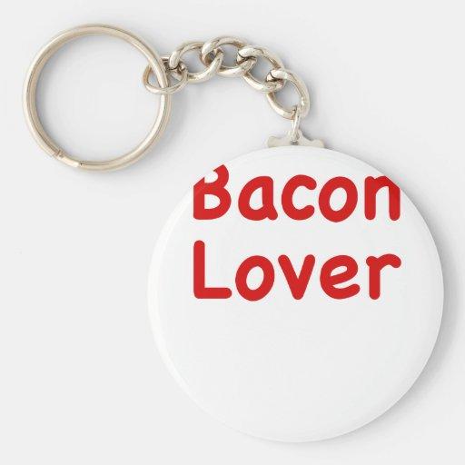 Bacon Lover Keychain