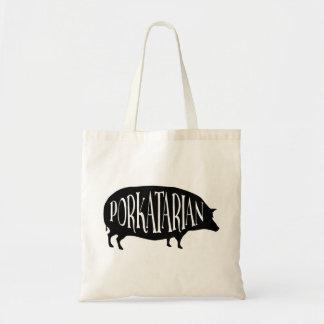 Bacon Lover - Porkatarian - Funny Vintage Pig