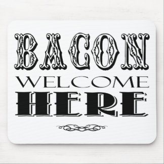 Bacon Lovers Gift Mouse Pad