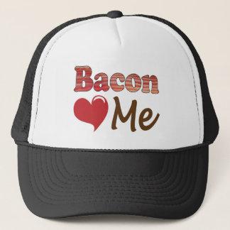 Bacon Loves Me Trucker Hat