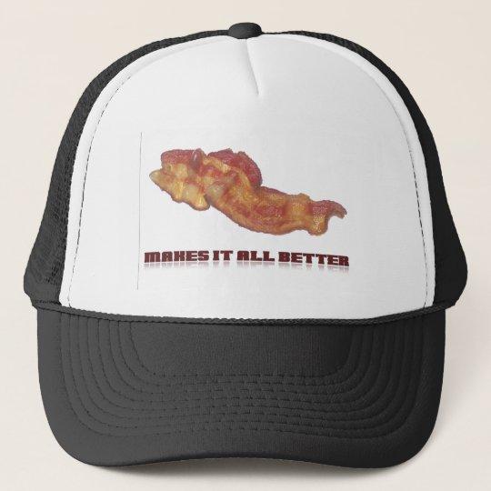 Bacon Makes It All Better Trucker Hat