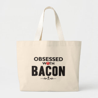 Bacon Obsessed Canvas Bags