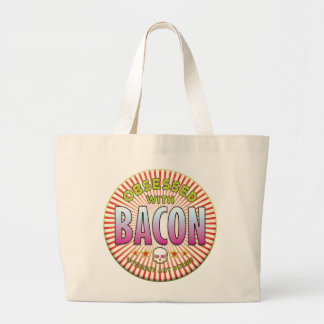 Bacon Obsessed R Tote Bags