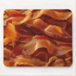 bacon pattern Mousepad