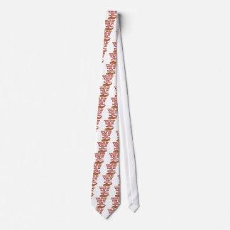 Bacon Poem Tie
