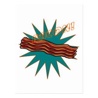 Bacon! Postcard