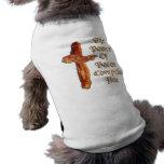 Bacon Power Sleeveless Dog Shirt