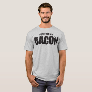 Bacon - Powered By Bacon T-Shirt