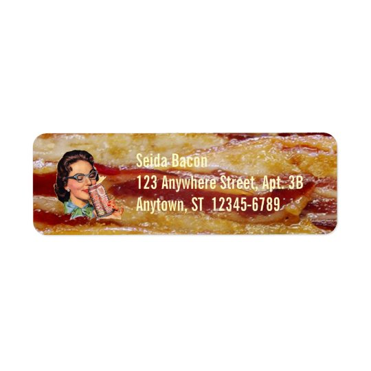 Bacon Return Address Labels