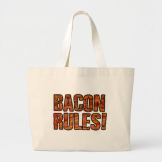 BACON RULES TOTE BAG